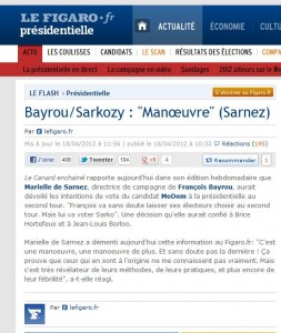 Manoeuvres politiques