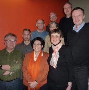 Les candidats pour le bureau 2013